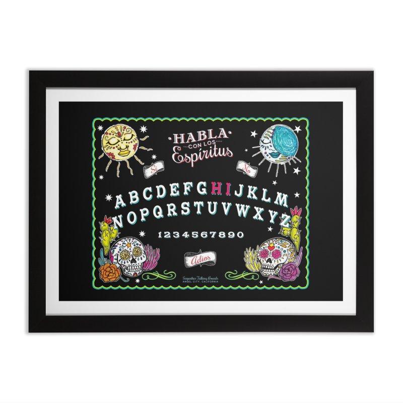 Calavera Ouija Home Framed Fine Art Print by serpenthes's Artist Shop