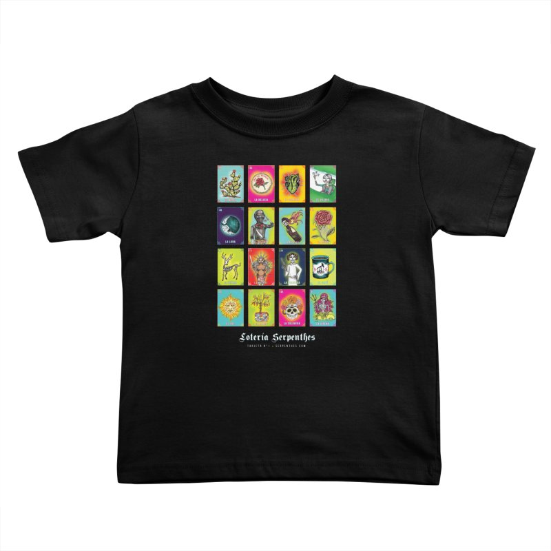 Loteria Serpenthes Kids Toddler T-Shirt by serpenthes's Artist Shop