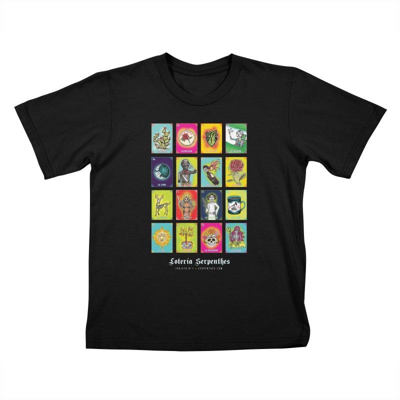 Loteria Serpenthes Kids T-Shirt by serpenthes's Artist Shop