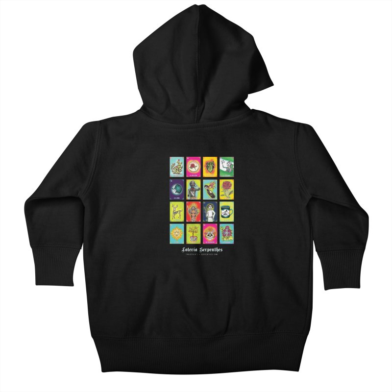 Loteria Serpenthes Kids Baby Zip-Up Hoody by serpenthes's Artist Shop