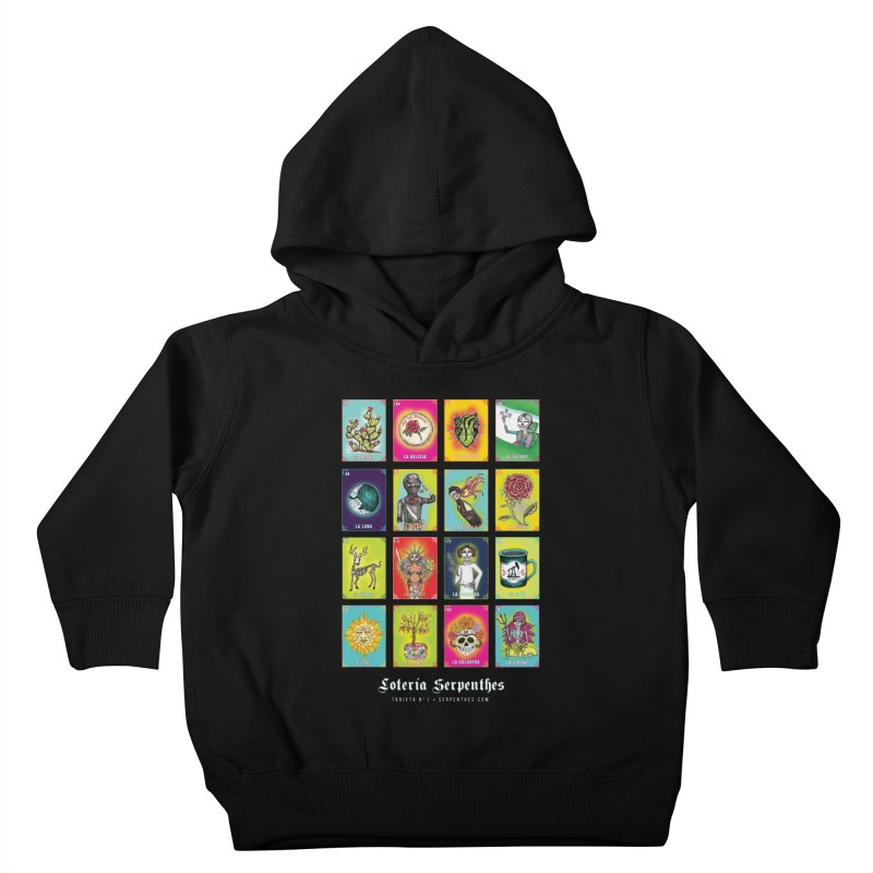 Loteria Serpenthes Kids Toddler Pullover Hoody by serpenthes's Artist Shop
