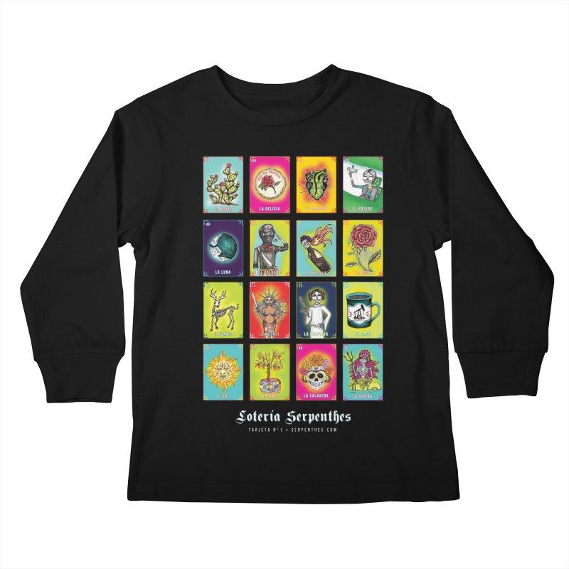 Loteria Serpenthes Kids Longsleeve T-Shirt by serpenthes's Artist Shop