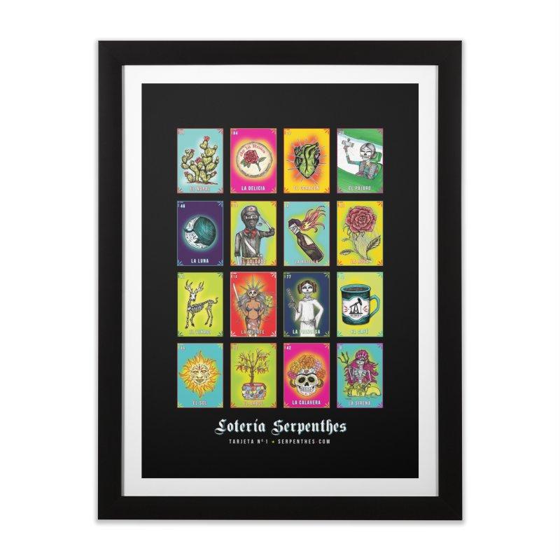 Loteria Serpenthes Home Framed Fine Art Print by serpenthes's Artist Shop