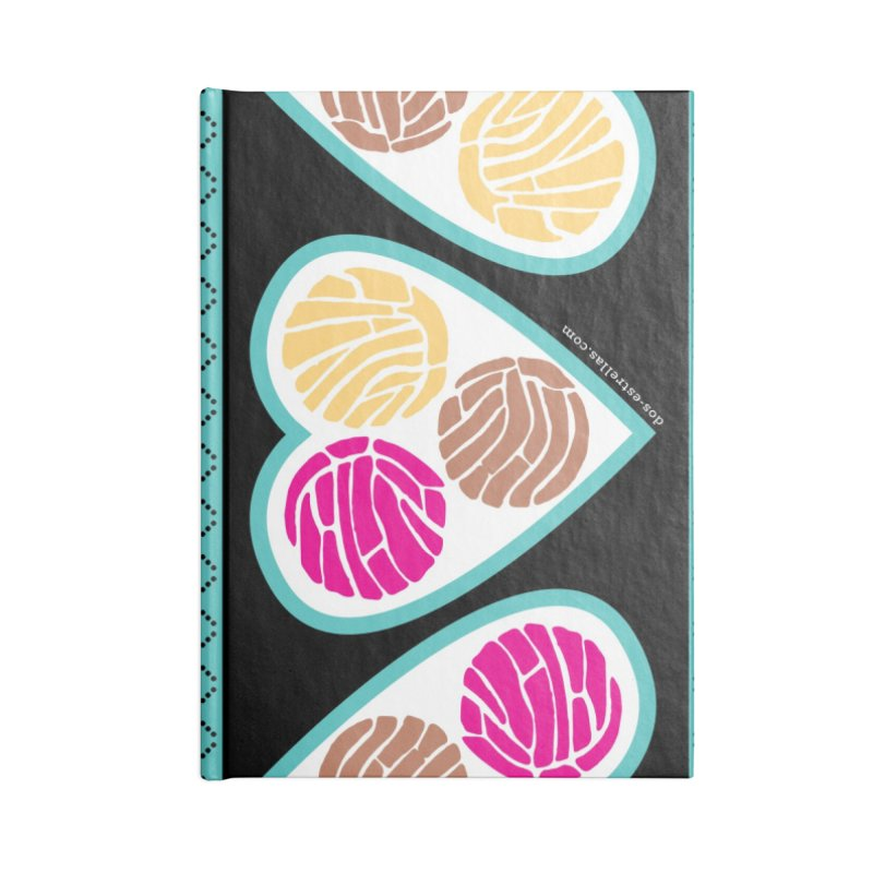 3 CONCHAS Accessories Notebook by serpenthes's Artist Shop