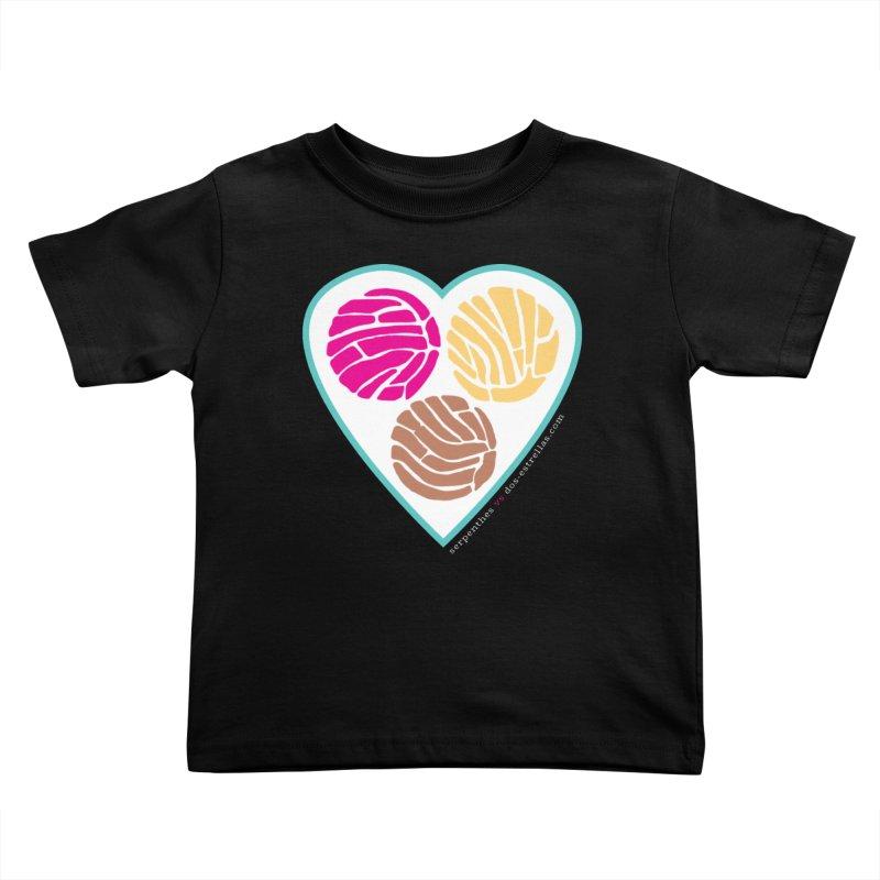 3 CONCHAS Kids Toddler T-Shirt by serpenthes's Artist Shop