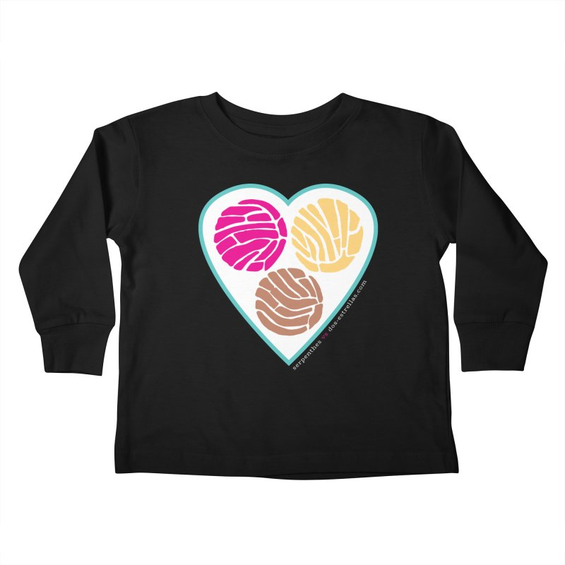 3 CONCHAS Kids Toddler Longsleeve T-Shirt by serpenthes's Artist Shop