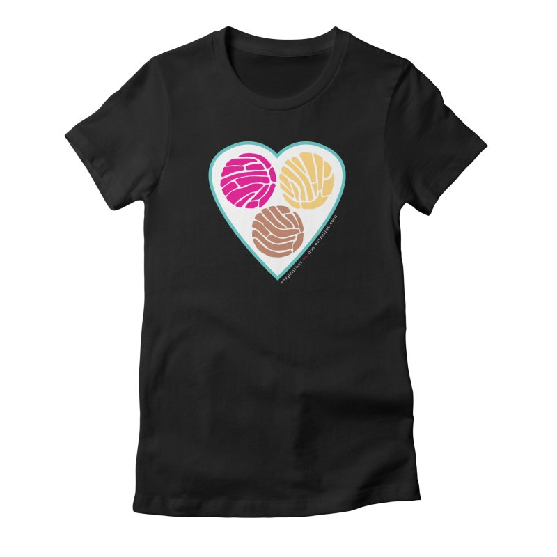 3 CONCHAS Women's Fitted T-Shirt by serpenthes's Artist Shop