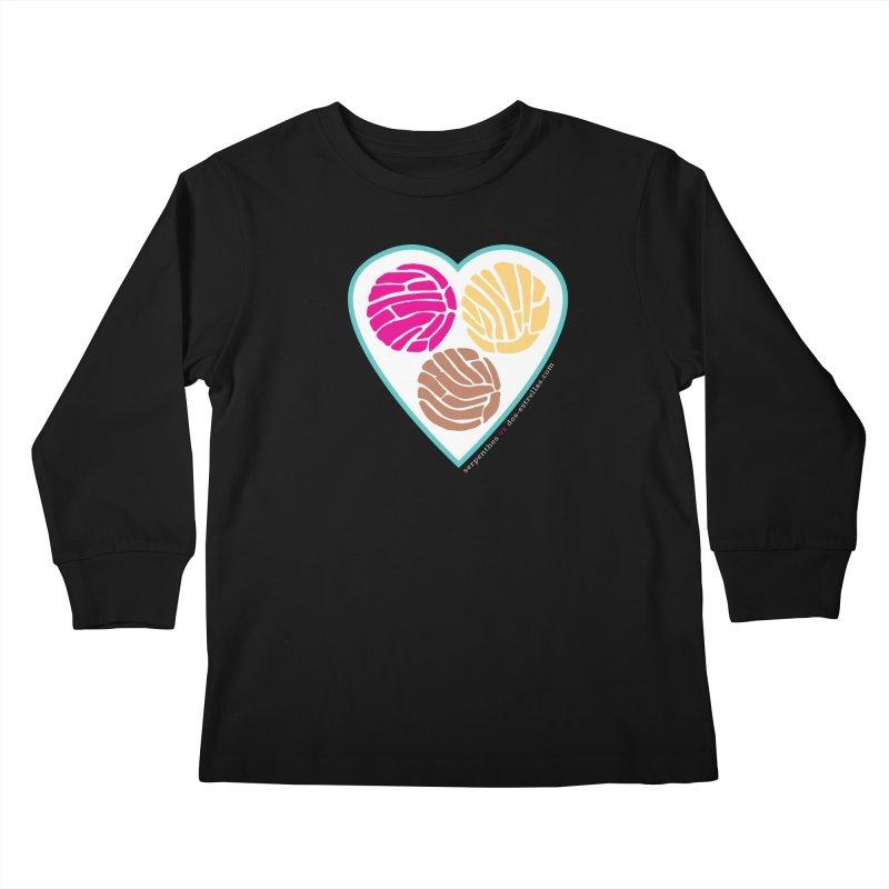 3 CONCHAS Kids Longsleeve T-Shirt by serpenthes's Artist Shop