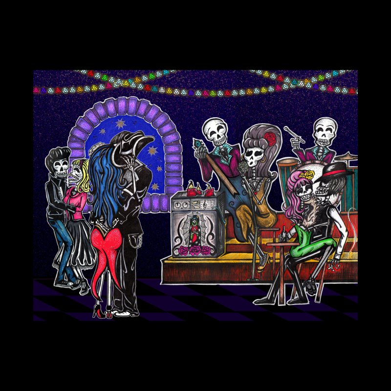 DEAD MAN'S PARTY None  by serpenthes's Artist Shop