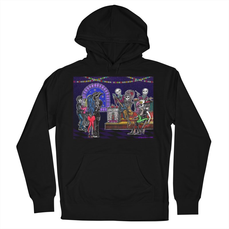 DEAD MAN'S PARTY Women's Pullover Hoody by serpenthes's Artist Shop