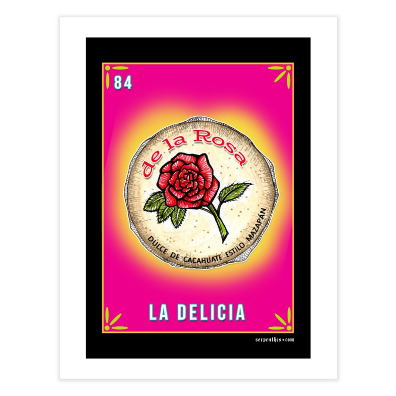 LA DELICIA Home Fine Art Print by serpenthes's Artist Shop