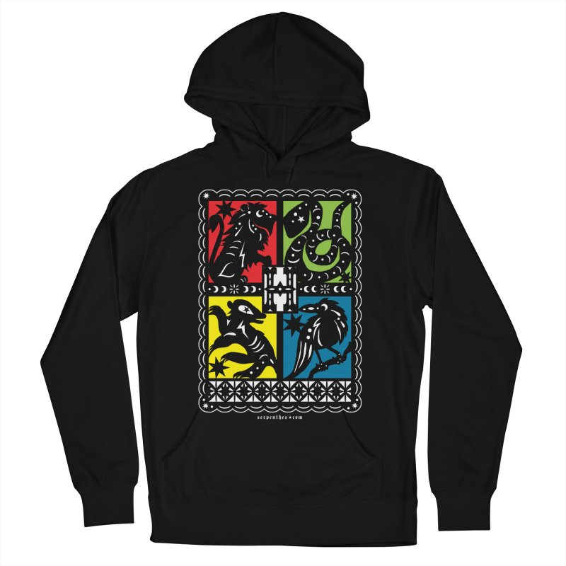 HOGWARTS HOUSES Papel Picado Men's Pullover Hoody by serpenthes's Artist Shop