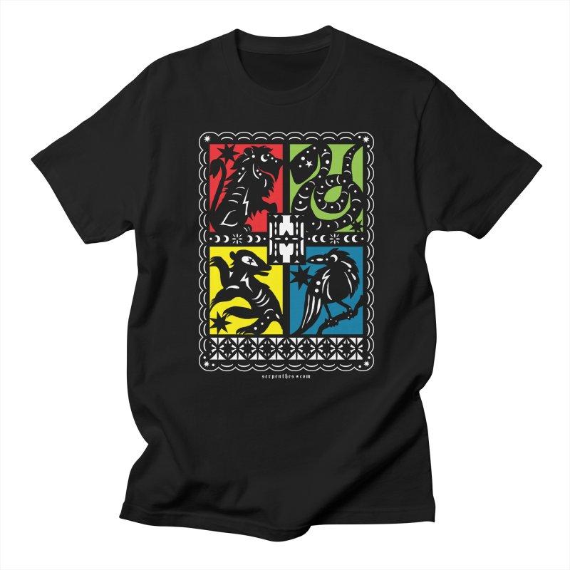 HOGWARTS HOUSES Papel Picado Men's Regular T-Shirt by serpenthes's Artist Shop