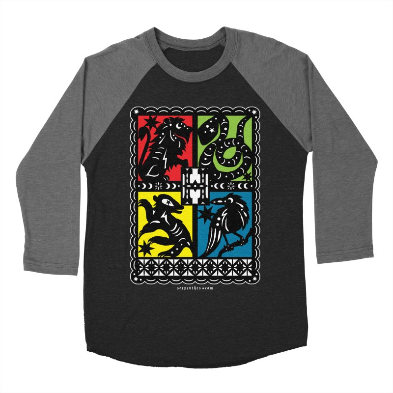 HOGWARTS HOUSES Papel Picado Women's Baseball Triblend Longsleeve T-Shirt by serpenthes's Artist Shop