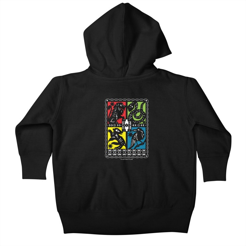 HOGWARTS HOUSES Papel Picado Kids Baby Zip-Up Hoody by serpenthes's Artist Shop