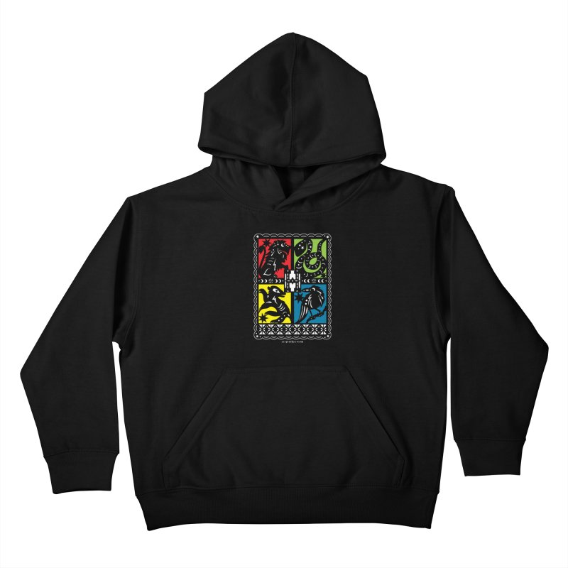 HOGWARTS HOUSES Papel Picado Kids Pullover Hoody by serpenthes's Artist Shop