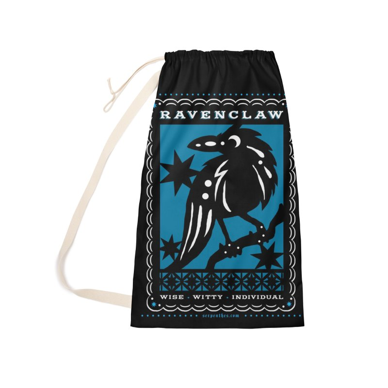 RAVENCLAW Mexican Papel Picado Inspired Hogwarts House Crest Accessories Laundry Bag Bag by serpenthes's Artist Shop