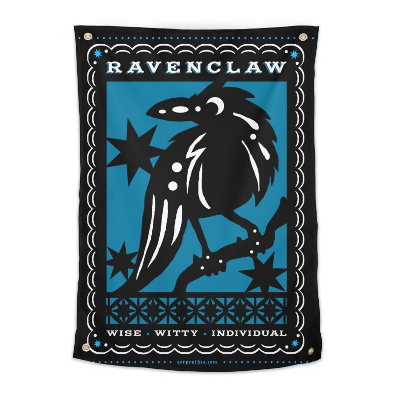 RAVENCLAW Mexican Papel Picado Inspired Hogwarts House Crest Home Tapestry by serpenthes's Artist Shop