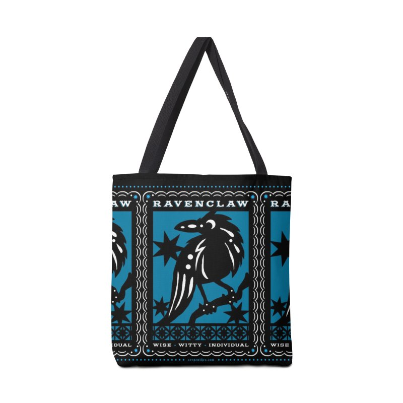 RAVENCLAW Mexican Papel Picado Inspired Hogwarts House Crest Accessories Tote Bag Bag by serpenthes's Artist Shop