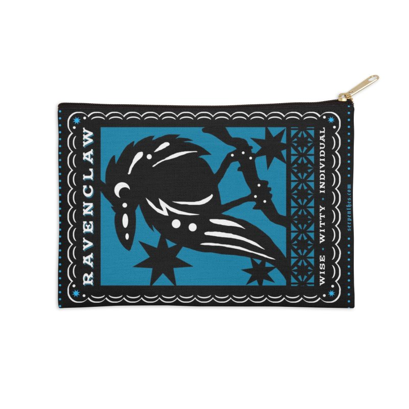 RAVENCLAW Mexican Papel Picado Inspired Hogwarts House Crest Accessories Zip Pouch by serpenthes's Artist Shop