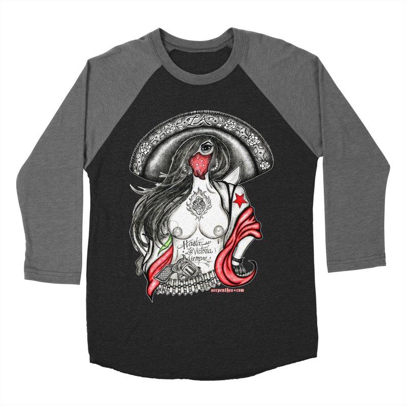 Reina de Los Angeles Men's Baseball Triblend Longsleeve T-Shirt by serpenthes's Artist Shop