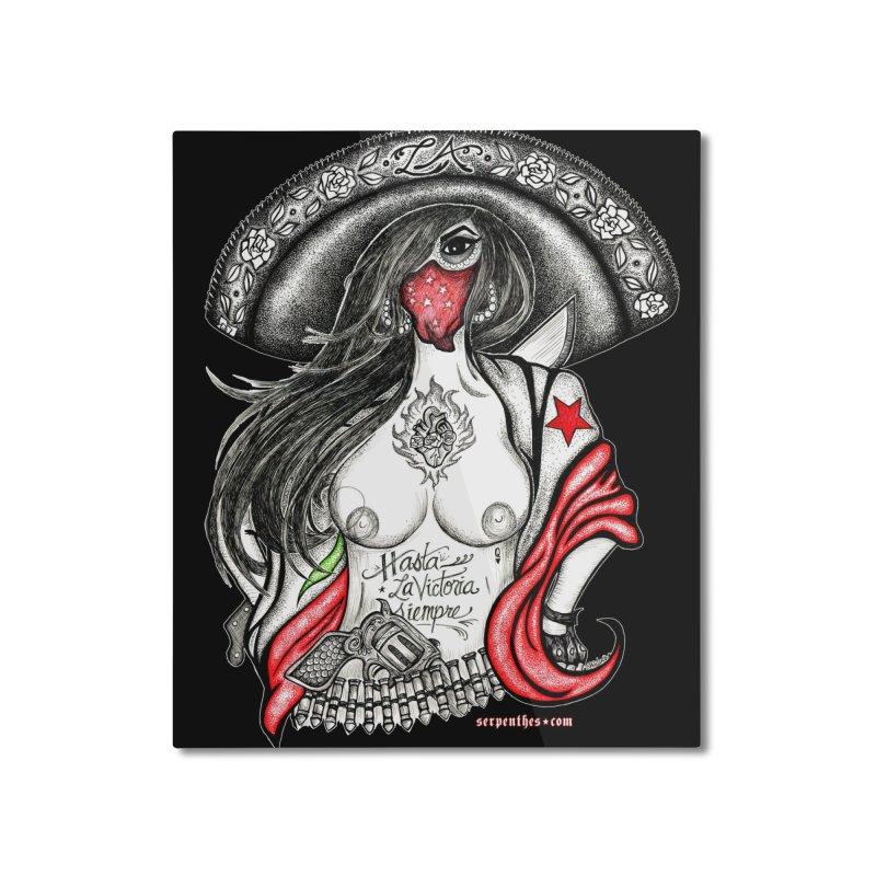 Reina de Los Angeles Home Mounted Aluminum Print by serpenthes's Artist Shop