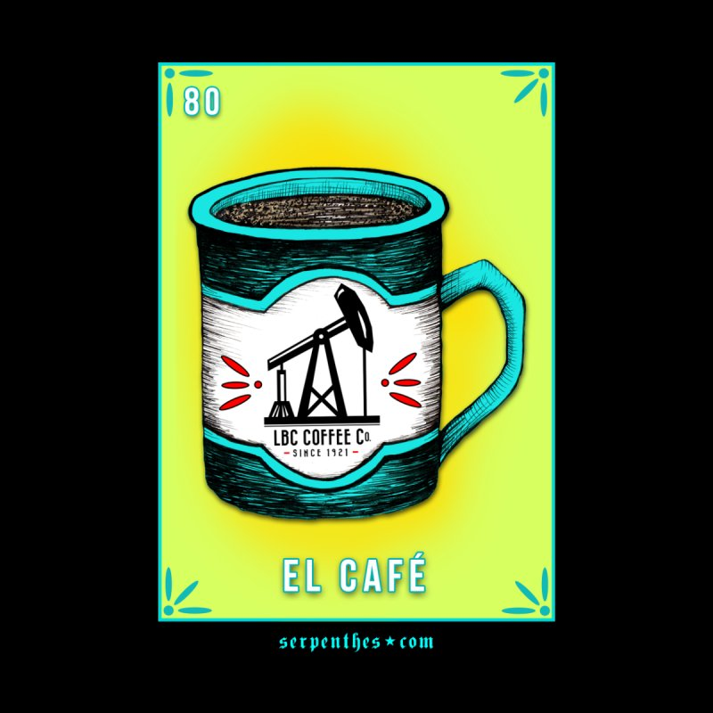 Lotería Serpenthes : Card No. 80 : El Café by serpenthes's Artist Shop