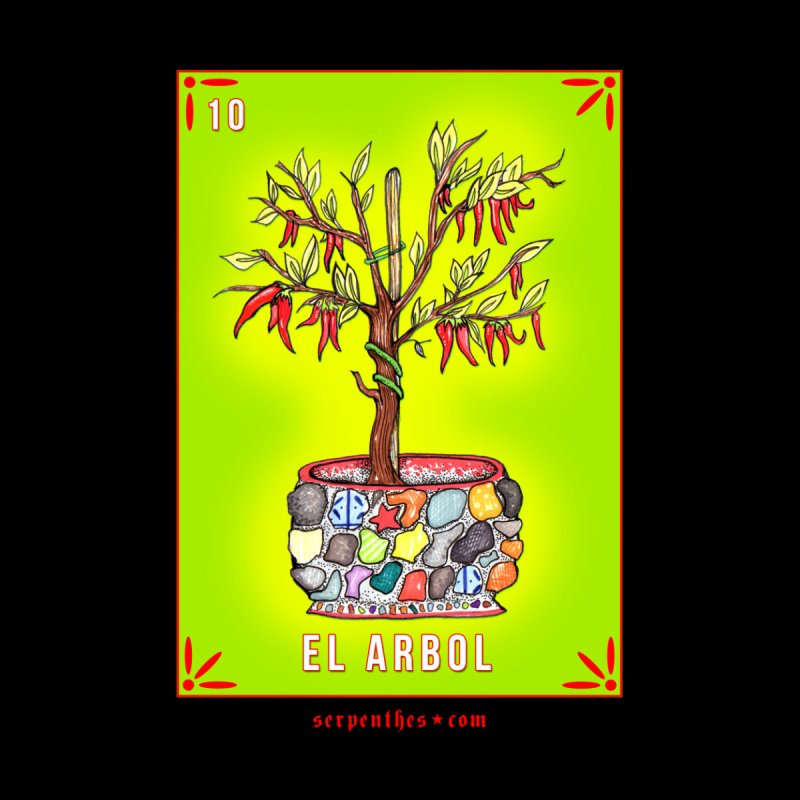 Lotería Serpenthes : Card No. 10 : El Arbol by serpenthes's Artist Shop