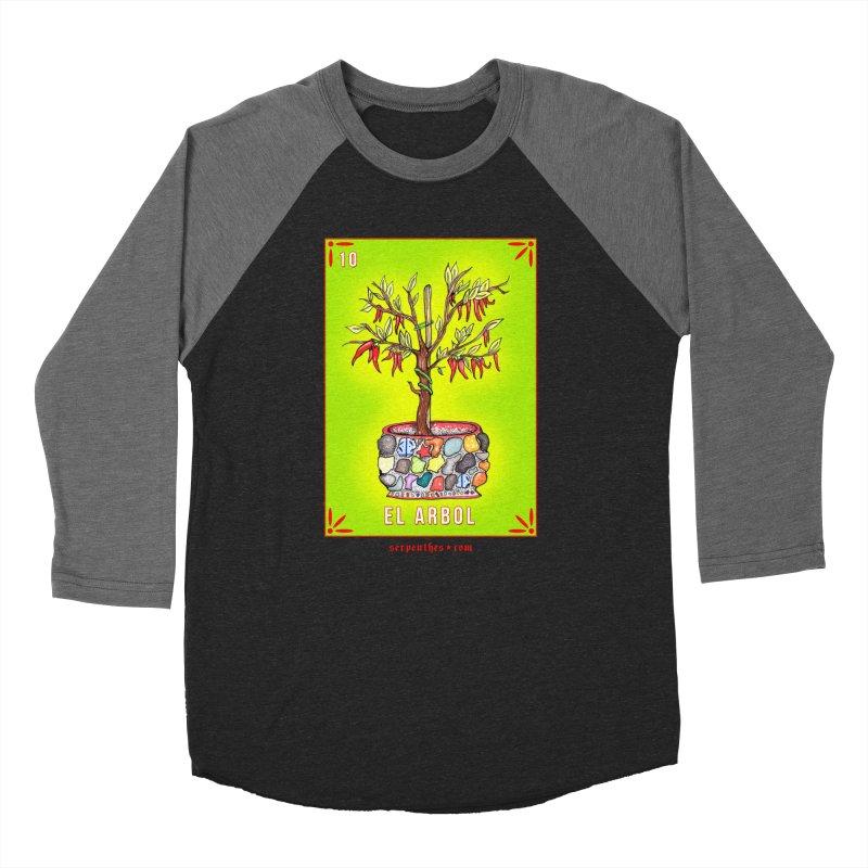 Lotería Serpenthes : Card No. 10 : El Arbol Men's Baseball Triblend T-Shirt by serpenthes's Artist Shop