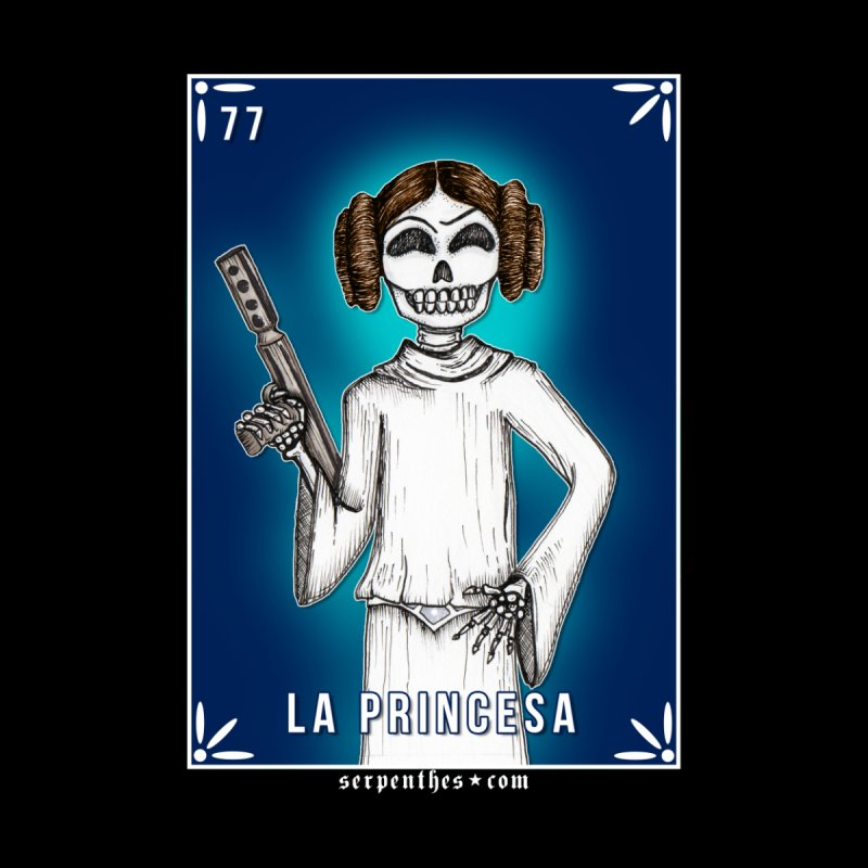 Lotería Serpenthes : Card No. 77 : La Princesa by serpenthes's Artist Shop