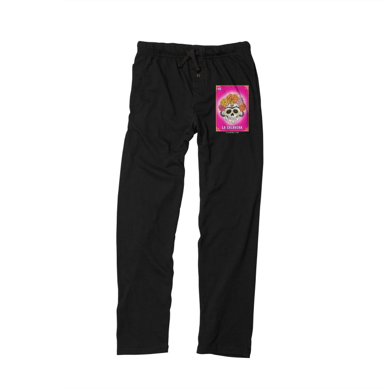 Lotería Serpenthes : Card No. 42 : La Calavera Men's Lounge Pants by serpenthes's Artist Shop