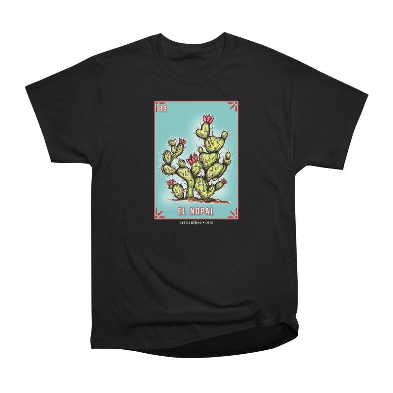 Lotería Serpenthes : Card No. 39 : El Nopal Men's Classic T-Shirt by serpenthes's Artist Shop