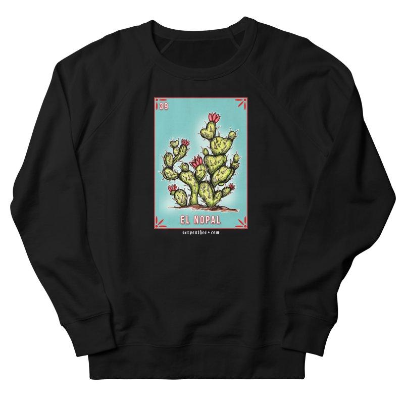 Lotería Serpenthes : Card No. 39 : El Nopal Men's Sweatshirt by serpenthes's Artist Shop