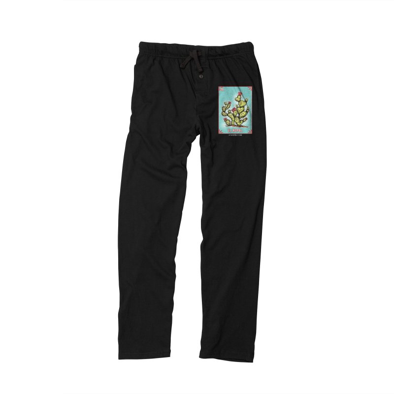 Lotería Serpenthes : Card No. 39 : El Nopal Men's Lounge Pants by serpenthes's Artist Shop
