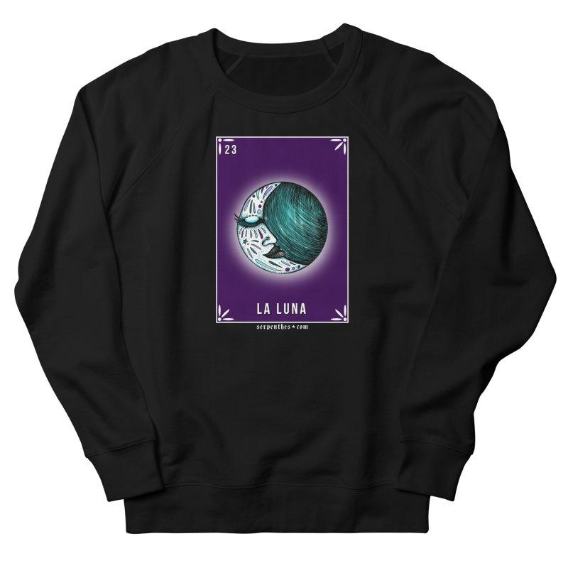 Lotería Serpenthes : Card No. 23 : La Luna Women's Sweatshirt by serpenthes's Artist Shop