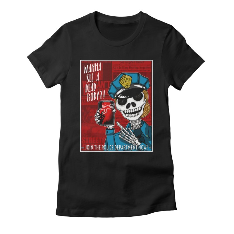 F T P Women's Fitted T-Shirt by serpenthes's Artist Shop