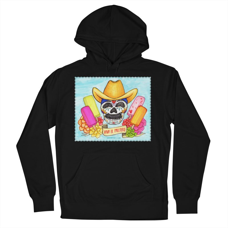 VIVA EL PALETERO Men's French Terry Pullover Hoody by serpenthes's Artist Shop
