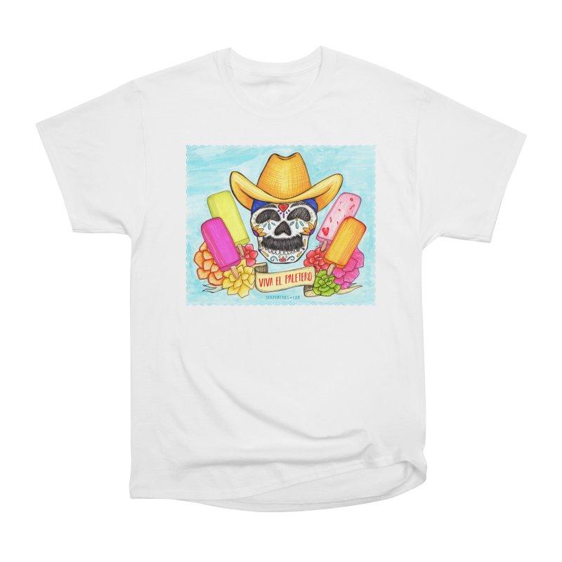 VIVA EL PALETERO Men's Heavyweight T-Shirt by serpenthes's Artist Shop