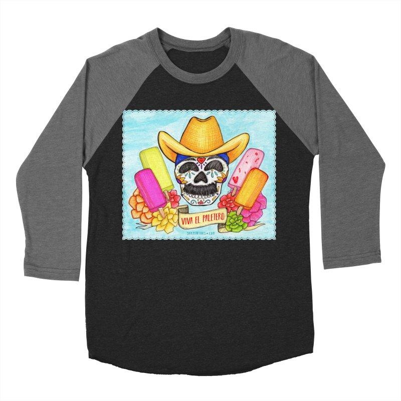 VIVA EL PALETERO Women's Baseball Triblend Longsleeve T-Shirt by serpenthes's Artist Shop