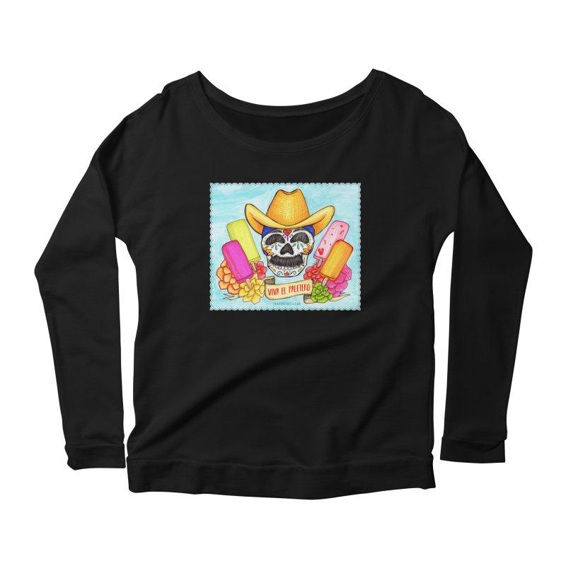 VIVA EL PALETERO Women's Scoop Neck Longsleeve T-Shirt by serpenthes's Artist Shop
