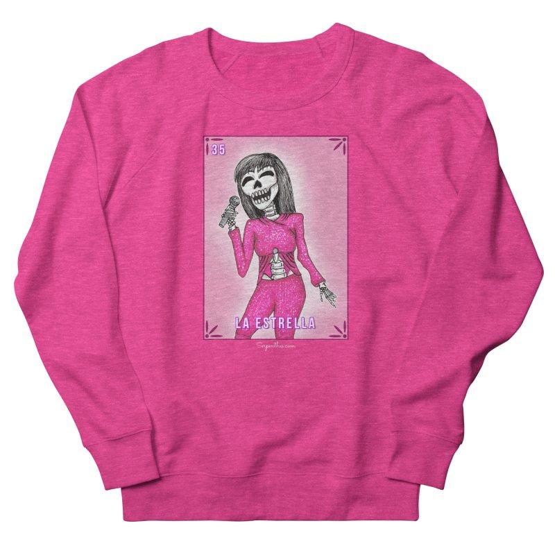 Loteria Serpenthes - La Estrella - Selena Men's Sweatshirt by serpenthes's Artist Shop