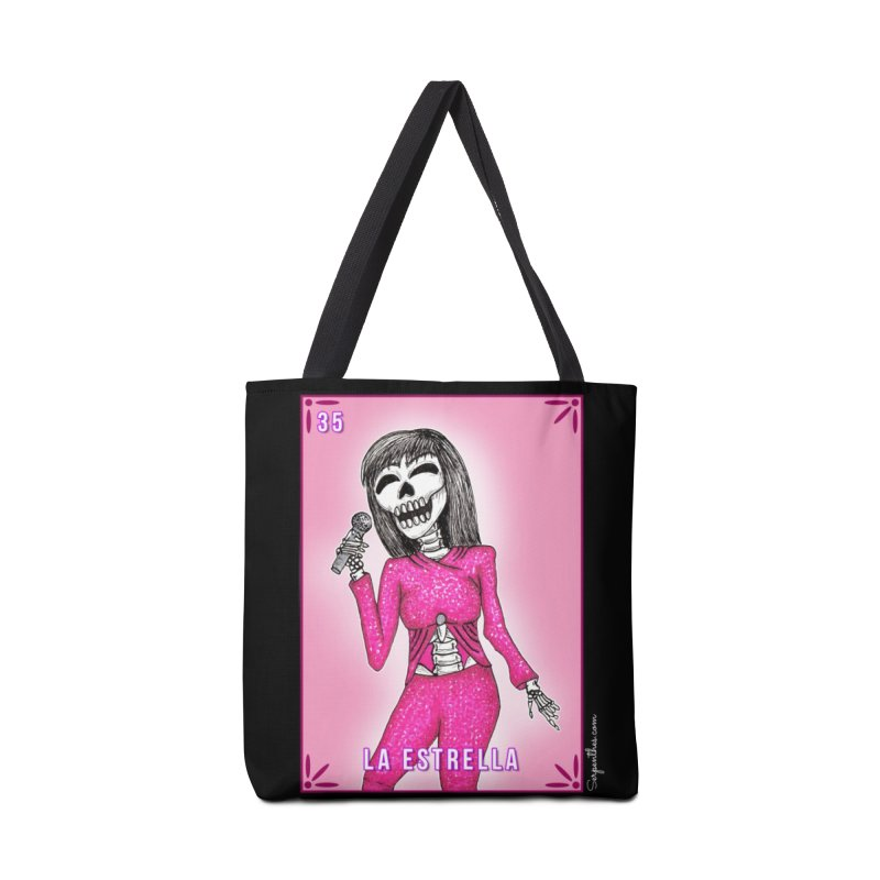 Loteria Serpenthes - La Estrella - Selena Accessories Bag by serpenthes's Artist Shop