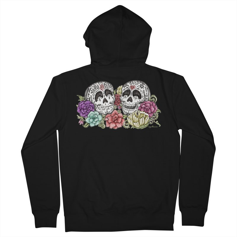I Hate Everyone But You Men's Zip-Up Hoody by serpenthes's Artist Shop