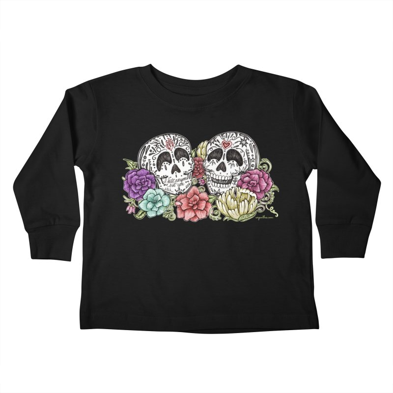 I Hate Everyone But You Kids Toddler Longsleeve T-Shirt by serpenthes's Artist Shop