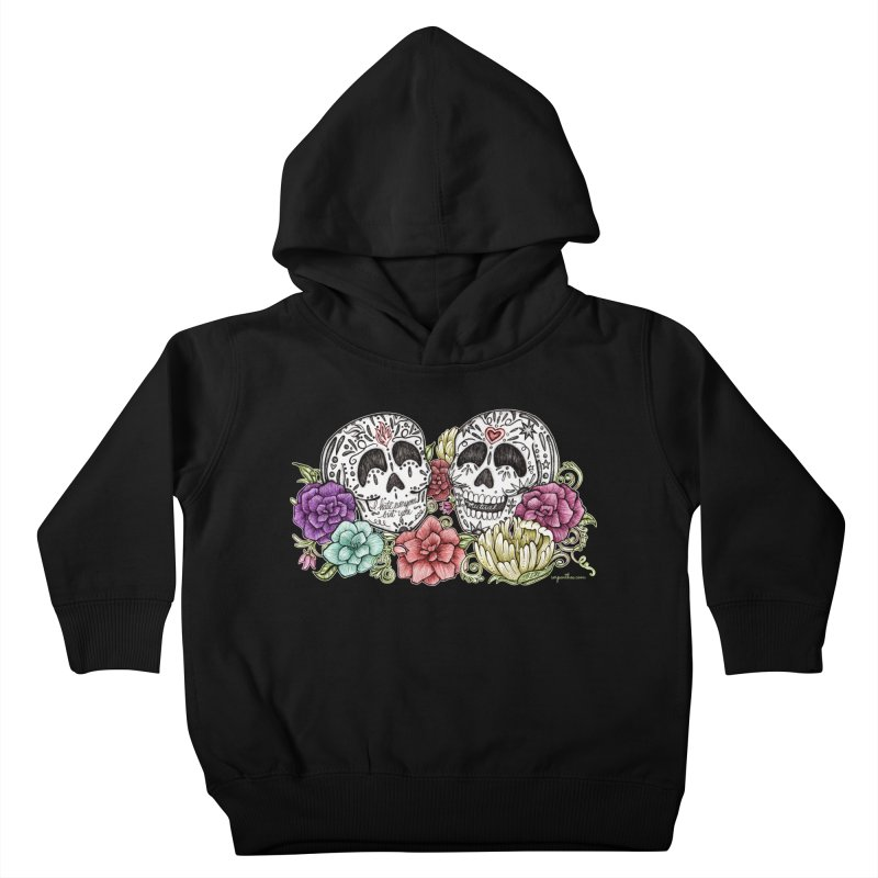 I Hate Everyone But You Kids Toddler Pullover Hoody by serpenthes's Artist Shop