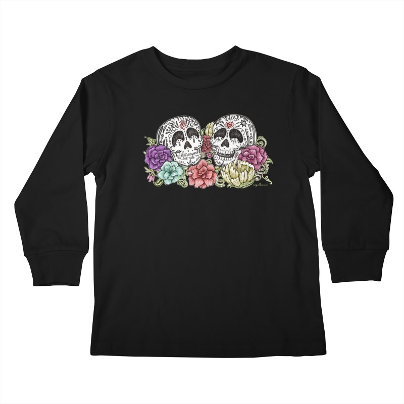 I Hate Everyone But You Kids Longsleeve T-Shirt by serpenthes's Artist Shop