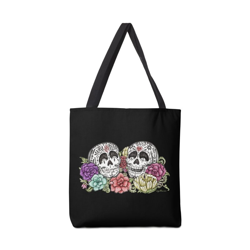 I Hate Everyone But You Accessories Bag by serpenthes's Artist Shop