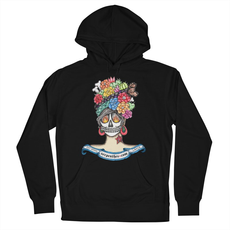 Ruiz 1980-2015 on Blue Women's French Terry Pullover Hoody by serpenthes's Artist Shop