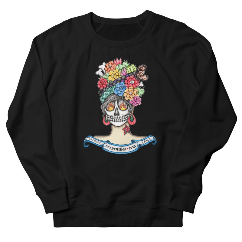 Ruiz 1980-2015 on Blue Women's French Terry Sweatshirt by serpenthes's Artist Shop