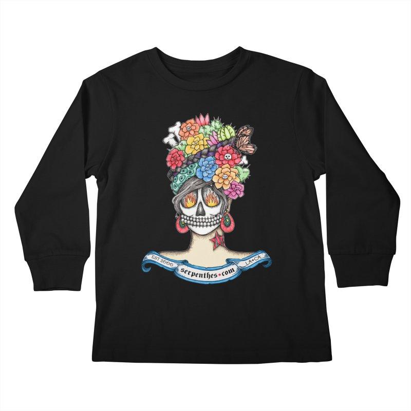 Ruiz 1980-2015 on Blue Kids Longsleeve T-Shirt by serpenthes's Artist Shop